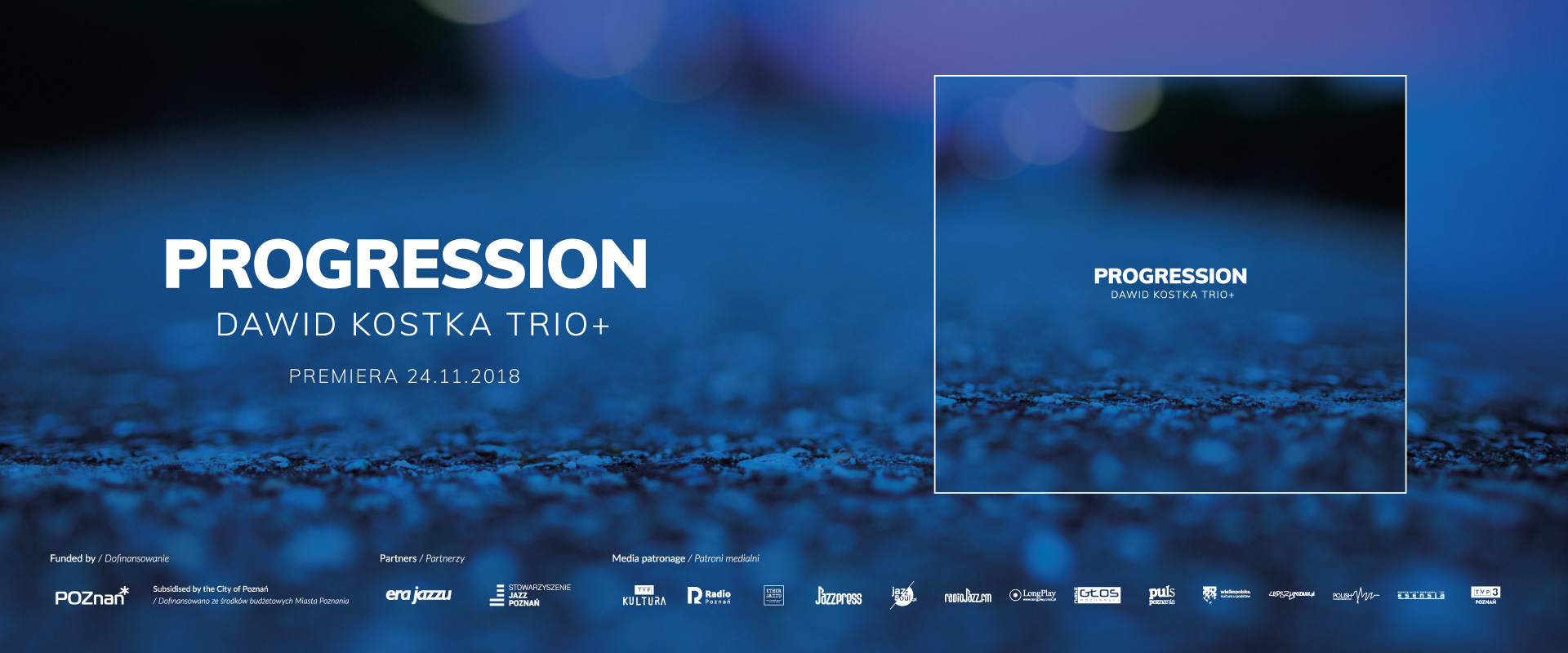 Dawid Kostka Trio+ Progression