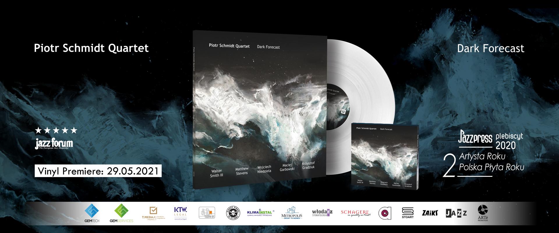 Piotr Schmidt Quartet - Dark Forecast vinyl