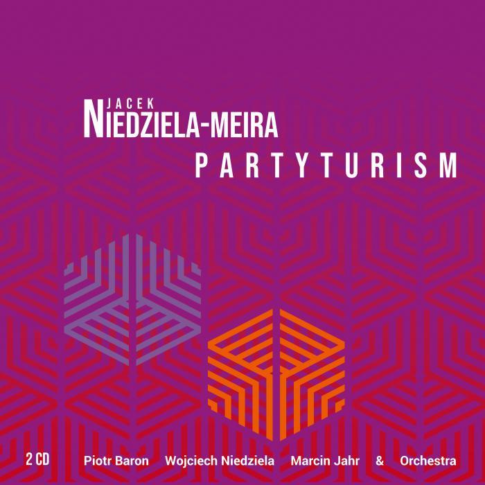 Jacek Niedziela-Meira - Partyturism - cover cd